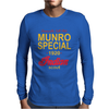 Vintage Burt Munro Indian Scout Bonneville Salt Flats retro Mens Long Sleeve T-Shirt
