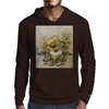 Vintage, butterfly with flowers  Mens Hoodie