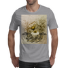 Vintage, butterfly with flowers  Mens T-Shirt