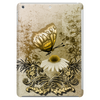 Vintage, butterfly with flowers  Tablet (vertical)