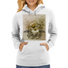 Vintage, butterfly with flowers  Womens Hoodie