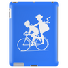 Vintage Graphic Children Biking Funny Humor Geek Tablet