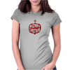 Vintage Merry Christmas Bulb Funny Humor Geek Womens Fitted T-Shirt