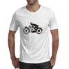 Vintage motorcycle racer Mens T-Shirt