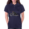 Vintage motorcycle racer Womens Polo