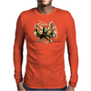 Vintage Octopus Mens Long Sleeve T-Shirt