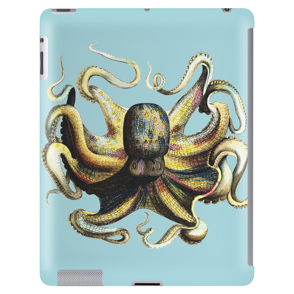 Vintage Octopus Tablet