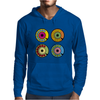 vintage phone retro dial pop art Mens Hoodie