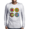 vintage phone retro dial pop art Mens Long Sleeve T-Shirt