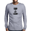 Vintage Steampunk Flying Machine Mens Long Sleeve T-Shirt