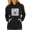 Vintage Tape Cassette Player Womens Hoodie