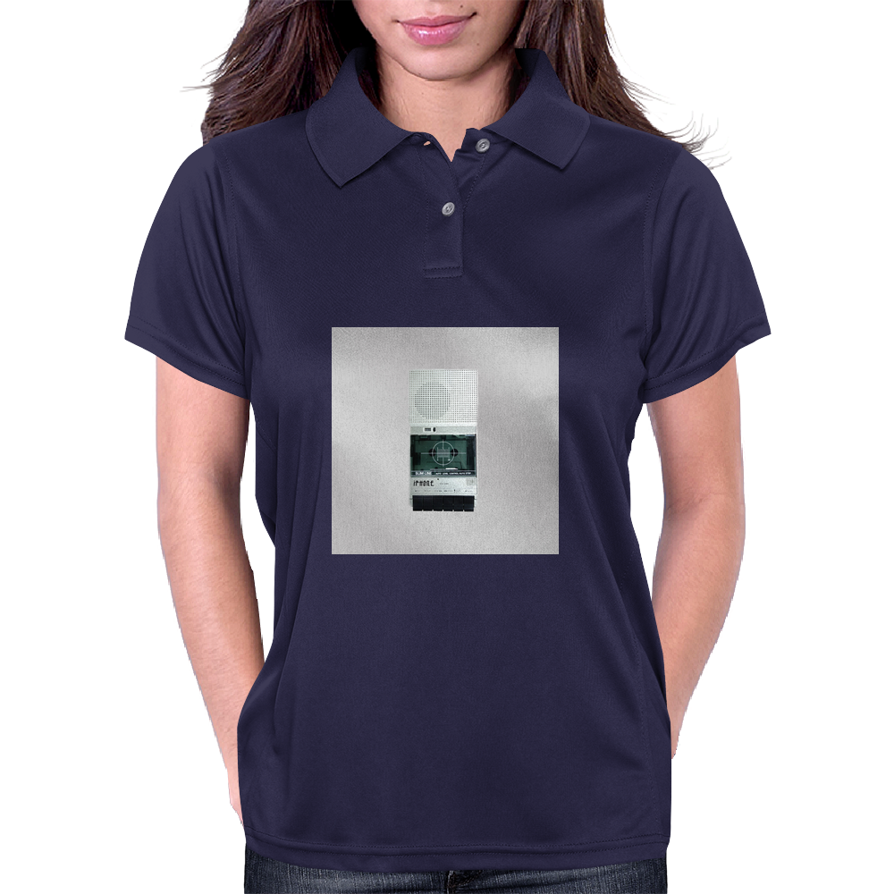 Vintage Tape Cassette Player Womens Polo