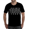 Vinyl Disc Jockey DJ Mens T-Shirt
