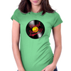 Vinyl Junkie Womens Fitted T-Shirt
