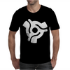 Vinyl Record Centre Mens T-Shirt