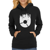 Vinyl Record with Grunge Cityscape Womens Hoodie