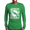 Vinyl Rules Mens Long Sleeve T-Shirt