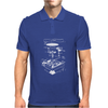 Vinyl Turntable Diagram Mens Polo