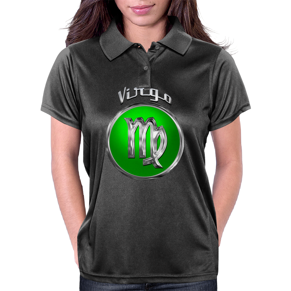 Virgo Zodiac Sign Womens Polo