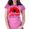 Visit Japan Womens Fitted T-Shirt