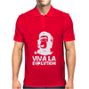 Viva La Evolution Mens Polo