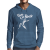 Vive Le Rock! Little Richard black Mens Hoodie