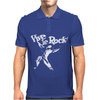 Vive Le Rock! Little Richard black Mens Polo