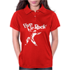 Vive Le Rock! Little Richard black Womens Polo