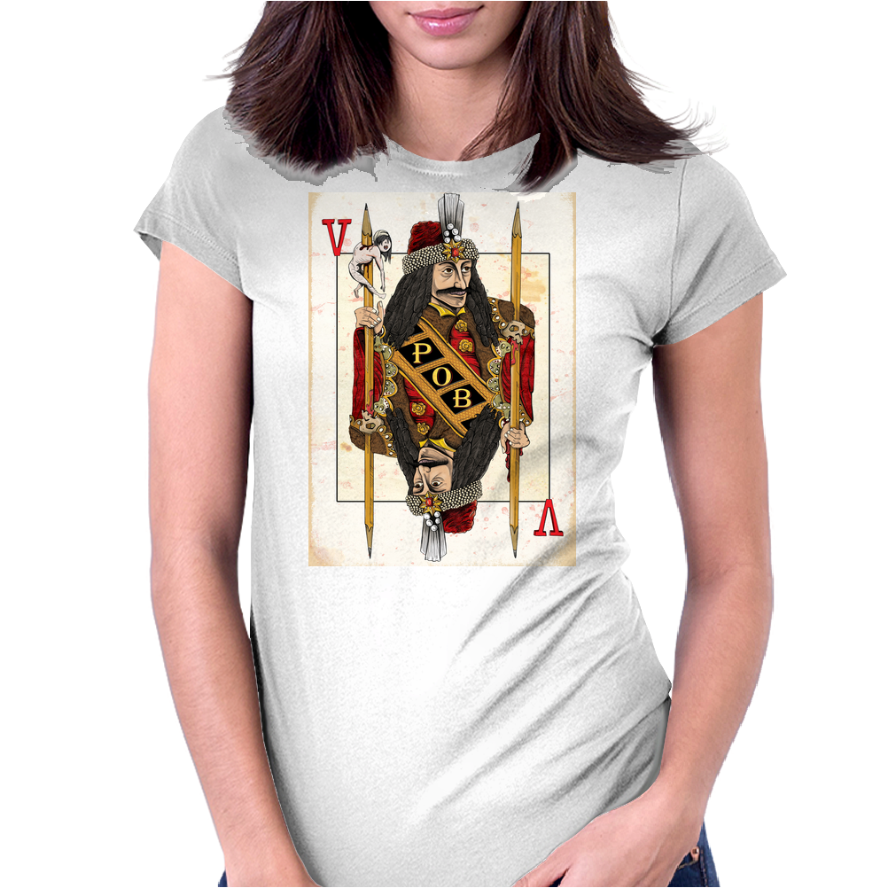 Vlad the Impaler Womens Fitted T-Shirt
