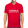 Vodka, connecting people Mens Polo