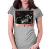 Volkswagen beetle engine bay Womens Fitted T-Shirt