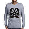 VOLKSWAGEN VW FACE Mens Long Sleeve T-Shirt