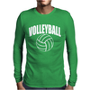 Volleyball Arch Mens Long Sleeve T-Shirt