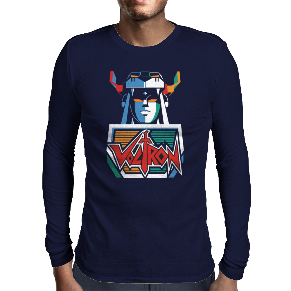 Voltron Mens Long Sleeve T-Shirt
