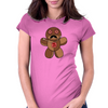 Voodoo Doll Womens Fitted T-Shirt