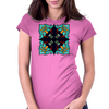 Voodoo Dolly Mandala Womens Fitted T-Shirt