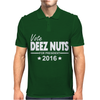 Vote Deez Nuts For President 2016 Funny Mens Polo