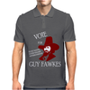Vote Guy Fawkes Mens Polo