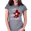 Vote Guy Fawkes Womens Fitted T-Shirt