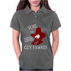 Vote Guy Fawkes Womens Polo
