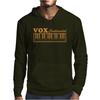 Vox Amps Continental Retro Synthesiser Vintage Mens Hoodie