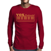Vox Amps Continental Retro Synthesiser Vintage Mens Long Sleeve T-Shirt