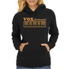 Vox Amps Continental Retro Synthesiser Vintage Womens Hoodie