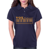 Vox Amps Continental Retro Synthesiser Vintage Womens Polo
