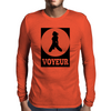 Voyeur Mens Long Sleeve T-Shirt
