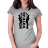 Voyeur Poledancers Womens Fitted T-Shirt