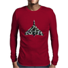 Vulcan Jet Aircraft Mens Long Sleeve T-Shirt