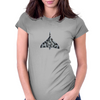 Vulcan XH558 Camo Womens Fitted T-Shirt