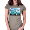 VW Beetle Sky, Ideal Birthday Gift Or Present Womens Fitted T-Shirt