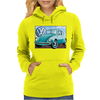 VW Beetle Sky, Ideal Birthday Gift Or Present Womens Hoodie